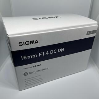 SIGMA - SIGMA 16mm F1.4 DC DN マイクロフォーサーズ用