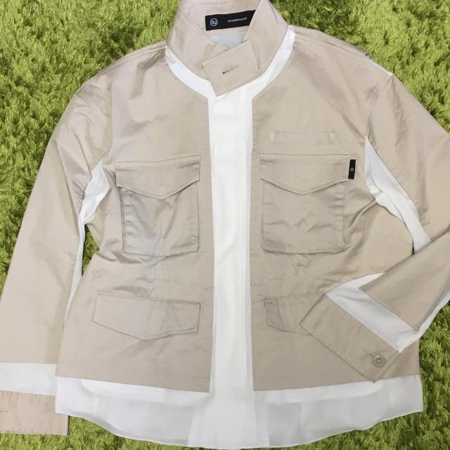 GU(ジーユー)のGU×UNDERCOVER ミリタリージャケット M レディースのジャケット/アウター(ミリタリージャケット)の商品写真