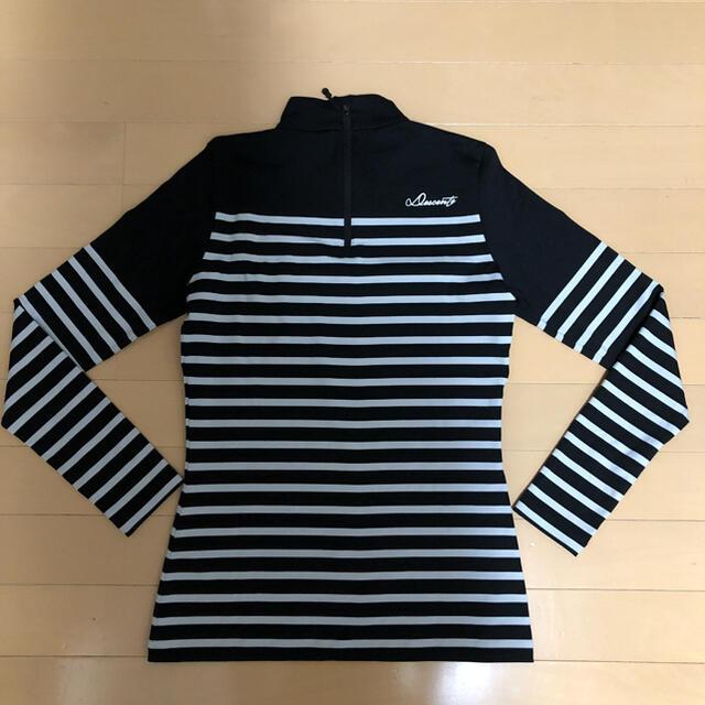 DESCENTE(デサント)のDESCENTEレディース 韓国シャツSサイズ美品❗️ スポーツ/アウトドアのゴルフ(ウエア)の商品写真