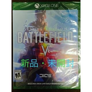 エックスボックス(Xbox)の新品★XBOX ONE/Battlefield 5 Deluxe Edition(家庭用ゲームソフト)