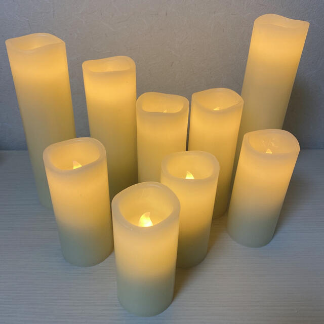LEDキャンドル リモコン付き キャンドル ライト コスメ/美容のリラクゼーション(キャンドル)の商品写真