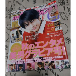 Johnny's - 月刊テレビジョン【表紙:中島健人】2018年12月号