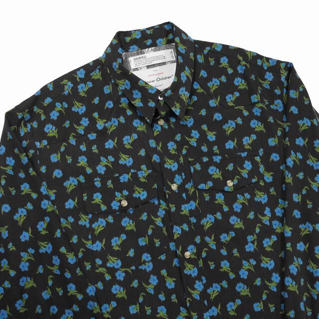 kolor(カラー)のdairiku 総柄 ウエスタンシャツ メンズのトップス(シャツ)の商品写真