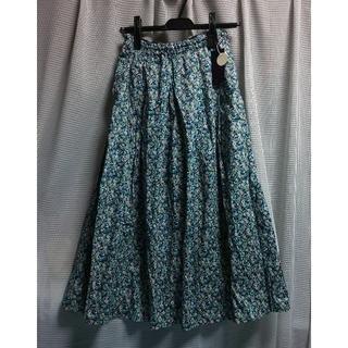 リバティ 花柄 スカート