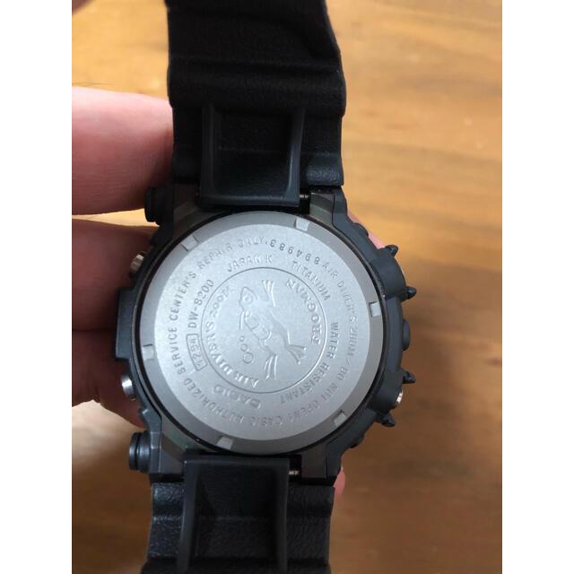 G-SHOCK(ジーショック)の廃盤 gshock フロッグマン DW8200  メンインブラック メンズの時計(腕時計(デジタル))の商品写真
