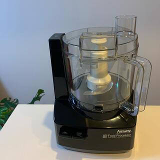 アムウェイ(Amway)のアムウェイ フードプロセッサー ケース付オプションパーツセット 黒(調理機器)