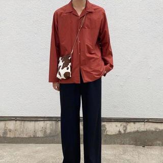 SUNSEA - AURALEE オーラリー オープンカラーシャツ セルビッジシャツ