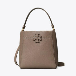 Tory Burch - 【即発送・新品未使用】TORRYBURCH マックグロースモールバケットバッグ