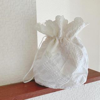 エディットフォールル(EDIT.FOR LULU)の新品 セシリーバンセン ceciliebahnsen 巾着 バッグ(ハンドバッグ)