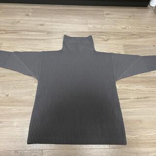 イッセイミヤケ(ISSEY MIYAKE)のオムプリッセ イッセイミヤケ  ハイネックカットソー(Tシャツ/カットソー(七分/長袖))