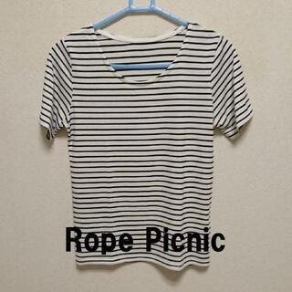 ロペピクニック(Rope' Picnic)の★新品・未着用 RopePicnic(ロペピクニック)カットソー★(Tシャツ(半袖/袖なし))