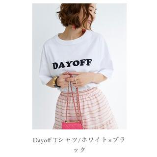 Drawer - 新品タグ付き オブリ OBLI DAYOFF Tシャツ