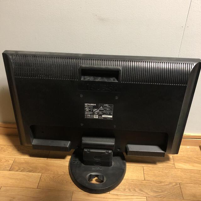三菱(ミツビシ)のMITSUBISHI 23インチモニター ※ スマホ/家電/カメラのPC/タブレット(ディスプレイ)の商品写真