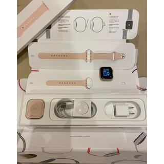 Apple Watch - アップルウォッチ5 40mm ピンクサンドスポーツバンド
