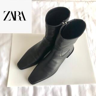ZARA - ZARA ザラ ブーツ ブラック 41 25.5