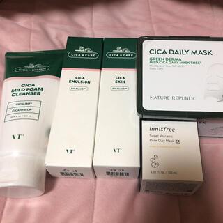 NATURE REPUBLIC - VTシカ ネイチャーリパブリックパック イニスフリークレイマスク 韓国化粧品