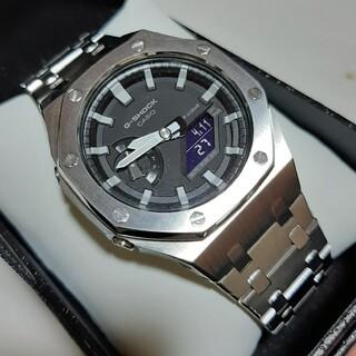 ジーショック(G-SHOCK)のGA-2100 CASIO カシオ Gショック 3世代カスタム! ベルト加工済!(腕時計(デジタル))