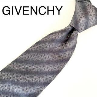 ジバンシィ(GIVENCHY)の☆おまけ付き!☆ 美品 GIVENCHY ネクタイ 総柄 グレー系(ネクタイ)