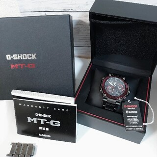 G-SHOCK - CASIO G-SHOCK 腕時計 MTG-B2000BD-1A4JF ボルドー
