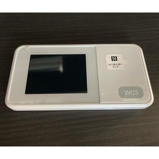 ファーウェイ(HUAWEI)のWiMAX Speed Wi-Fi NEXT W03 楽天モバイル(その他)