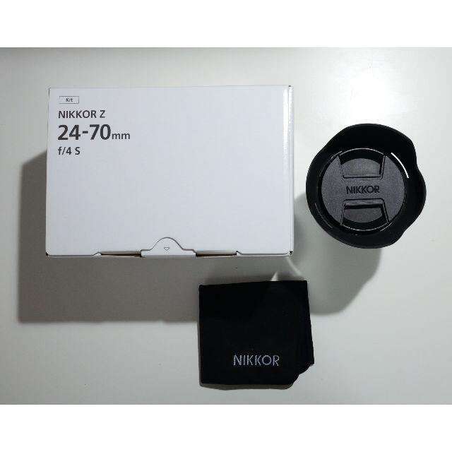 Nikon(ニコン)の【美品】NIKKOR Z 24-70mm f/4 S スマホ/家電/カメラのカメラ(レンズ(ズーム))の商品写真