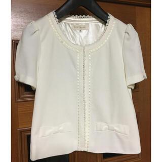 レストローズ(L'EST ROSE)のレストローズ ♡新品・タグ付き♡ 半袖ジャケット(ノーカラージャケット)