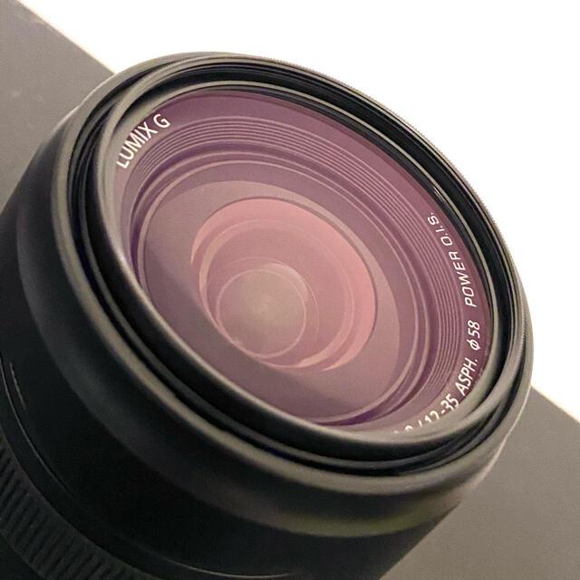 Panasonic(パナソニック)のLUMIX G X VARIO 12-35mm/F2.8 II スマホ/家電/カメラのカメラ(レンズ(ズーム))の商品写真