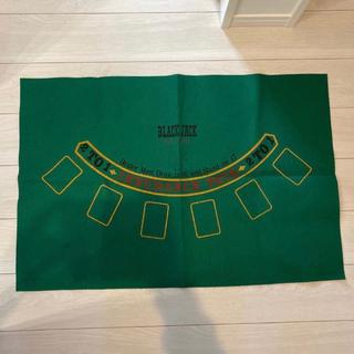 ブラックジャック バカラ プレイングマット カードシューター セット(トランプ/UNO)
