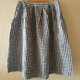 MUJI (無印良品) - 無印良品 リネンスカート