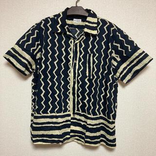 ポールスミス(Paul Smith)のPaul Smith オープンカラーシャツ 総柄 オーバーサイズ(シャツ)