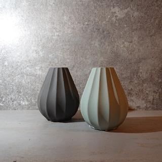 花器 陶器 一輪挿し 花瓶 ブルー 青系 グリーン 緑系 おしゃれ 北欧