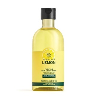 THE BODY SHOP - THE BODY SHOP ピュリファイング ヘア&ボディウォッシュ Lemon