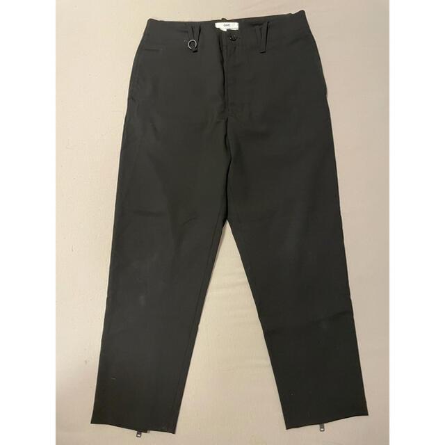 Jil Sander(ジルサンダー)のOAMC 名作 zip clopped slacks ブラック 31 メンズのパンツ(スラックス)の商品写真