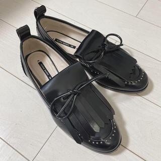 ZARA - ZARA ローファー 革靴