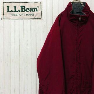 エルエルビーン(L.L.Bean)のエルエルビーン ジップアップ ジャケット ブルゾン 90's ボルドー(ブルゾン)