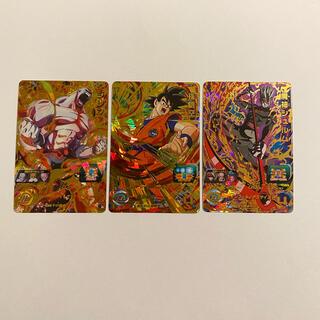 ドラゴンボール(ドラゴンボール)のドラゴンボールヒーローズ  ジレン 孫悟空 魔神シュルム(カード)