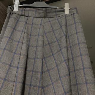 オペークドットクリップ(OPAQUE.CLIP)のオペーク チェックロングスカート(ロングスカート)