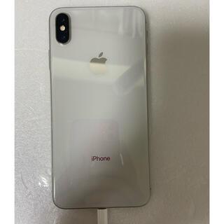 アイフォーン(iPhone)のiPhone XS Max Silver 64Gb Simフリーバッテリー93%(スマートフォン本体)