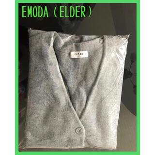 エモダ(EMODA)の【希少・早い者勝ち】EMODA[ELDER]COMPRESSニットコクーンカーデ(カーディガン)