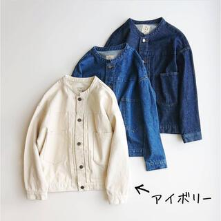 SM2 - 新品 SM2 リンネル掲載 今季新作完売 バンドカラーGジャン アイボリー