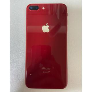 アイフォーン(iPhone)のジャンク iPhone 8 Plus Red 64Gb バッテリー100%(スマートフォン本体)