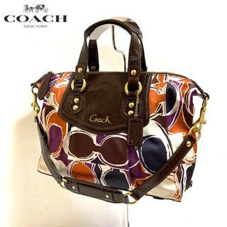 COACH - 【正規品】美品✨COACH コーチ 2wayバッグ