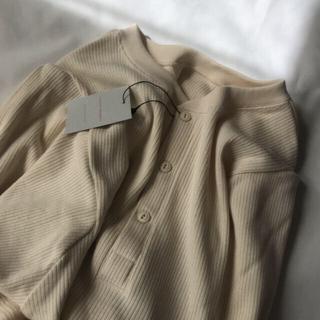 コドモビームス(こども ビームス)の【新品未使用】mimi poupons 2wayベルスリーブトップス(Tシャツ(長袖/七分))
