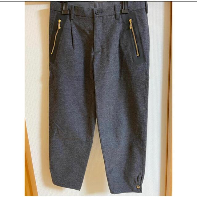 kolor(カラー)のkolor 19aw ウールサージ テーパードスラックス メンズのパンツ(スラックス)の商品写真