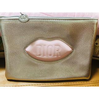 Christian Dior - 箱無しディオール ノベルティ リップ シルバーポーチ