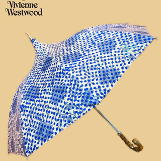 ヴィヴィアンウエストウッド(Vivienne Westwood)のVivienneWestwood クライミングフローラルドット パラソル(傘)