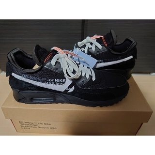 OFF-WHITE - NIKE AIR MAX90  off-white BLACK THE TEN