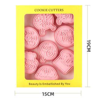 アンパンマン - アンパンマンクッキー型  バイキンマン 新品未使用 6個セット売り 新品未使用