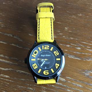 エンジェルクローバー(Angel Clover)のエンジェルクローバー レフトクラウン 腕時計 イタリアンレザー 電池交換済(腕時計(アナログ))