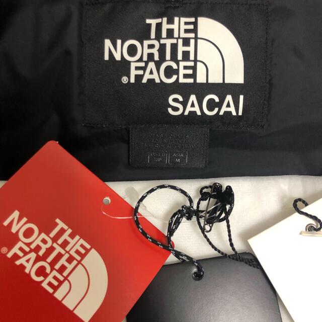 正規品 sacai north face ボンバー ジャケット メンズのジャケット/アウター(ダウンジャケット)の商品写真